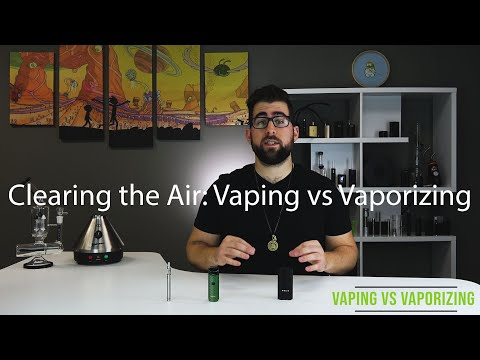 Clearing the Air: Vaporizing Dry Herb vs Vaping Oil