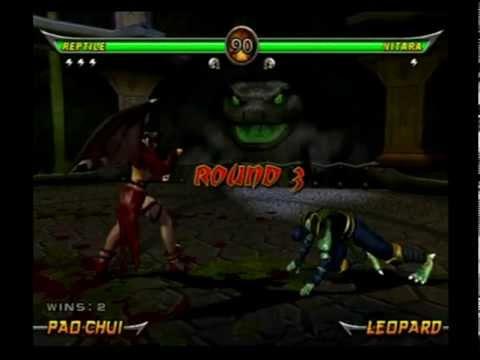 Mortal Kombat Armageddon - Reptile 1/3