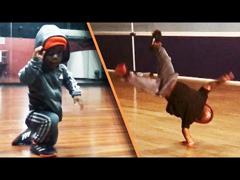 Kristina - 7-Year-Old Shows Off Amazing Breakdancing Moves