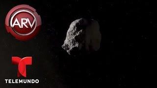Vigilan un meteorito gigante que podría chocar la tierra | Al Rojo Vivo | Telemundo