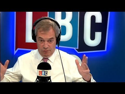 The Nigel Farage Show: Would you choose Brexit over Northern Ireland? LBC - 26th March 2018