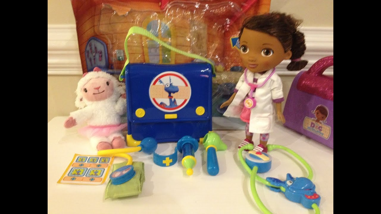 Doc Mcstuffins Stuffy S Check Up Set With Doctor Dottie