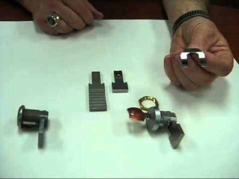 Olympus Lock T37 metal bank drawer lock features