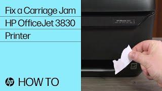 Fix a Carriage Jam | HP Office…