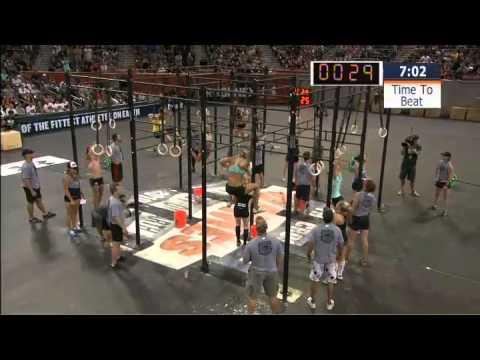 2010 CrossFit Games - Women's Amanda Final Heat