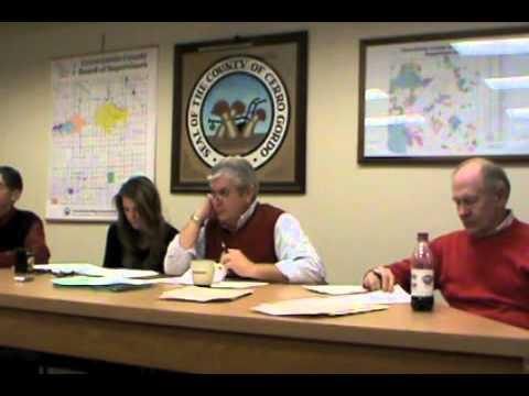 CG Supervisors 2012-01-17
