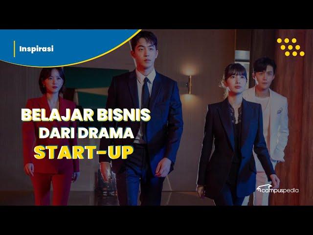 Intip! 3 Pelajaran Membangun Bisnis dari Drama Korea Start Up