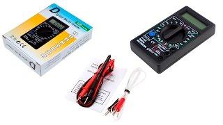 Мультиметр DT-838. Как работать с мультитестером, весь функционал