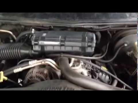Help Needed: 2001 Dodge Ram 1500 5.2 Vacuum Leak - YouTube
