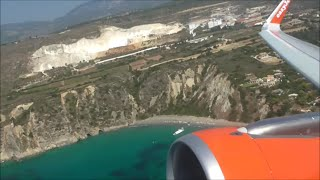 EasyJet Airbus A320-214 | Kefalonia to London Gatwick *Full Flight*(This video is property of Train_PlaneHub,