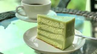 Pandan Layered Cake 班兰咖椰蛋糕
