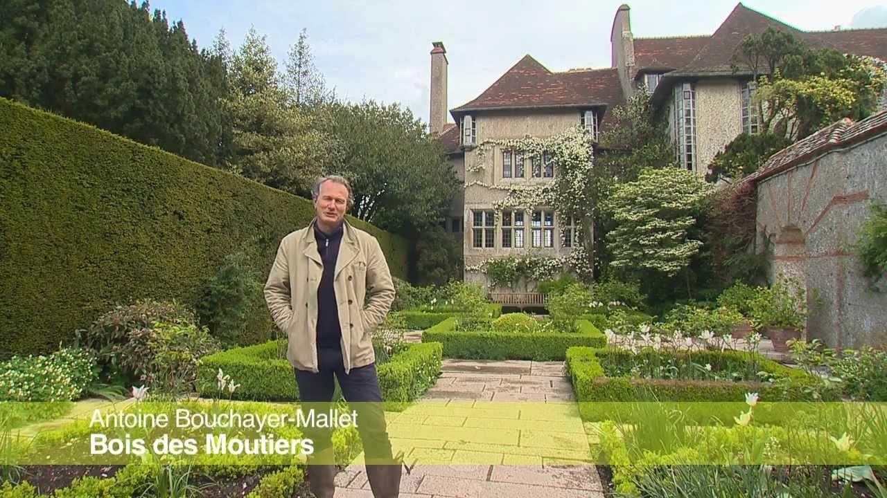 Jardin de normandie le bois des moutiers youtube for Le jardin de xavier