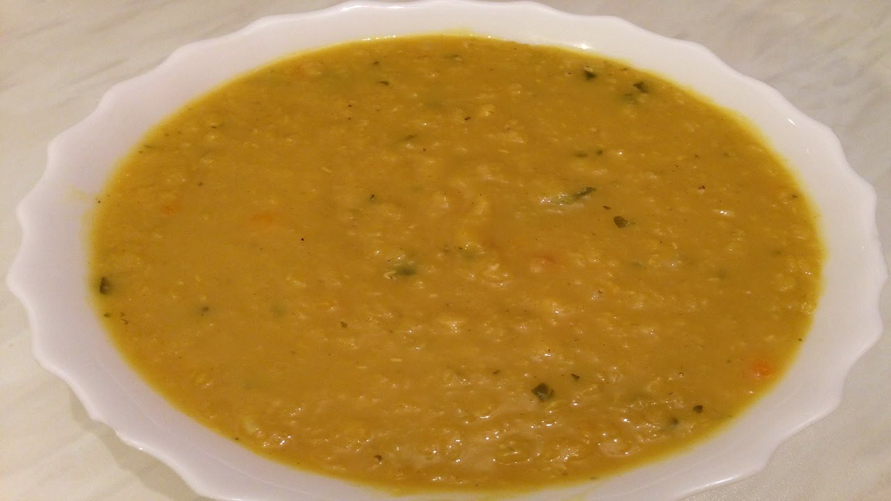 lebanese red lentil soup with rice