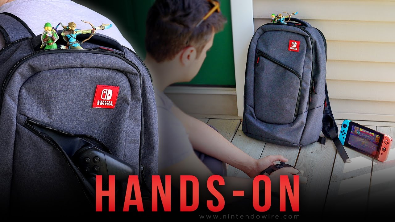 dc7139f072 PDP Elite Player Backpack for the Nintendo Switch