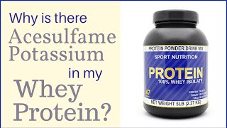 acesulfame potassium dangers side effects