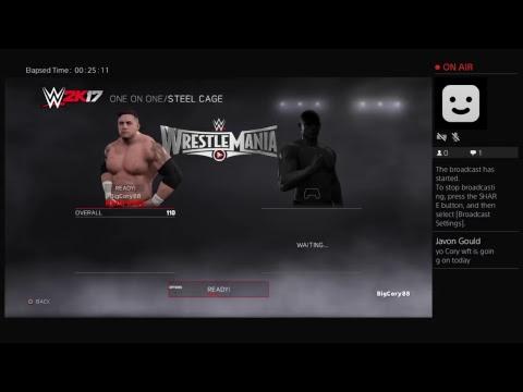 Wrestlemaina  madd dogg vs Luke Anderson