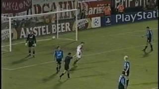 OLYMPIAKOS-BAYERN LEVERKUSEN 6-2 CHAMPIONS LEAGUE 2002-03