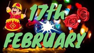 17 February Special birthday status video   happy birthday wishes whatsapp status   शुभ जन्मदिन