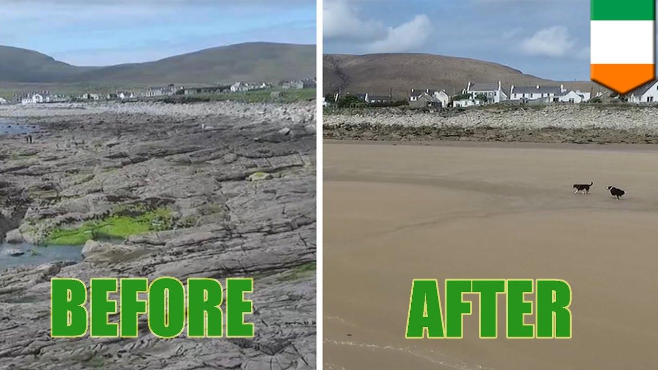 Dooagh Beach On Achill Island
