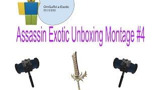 Unboxing Exotics(Roblox #4)