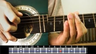 Repeat youtube video Alipin - Shamrock SOLO/Lead Guitar Tutorial