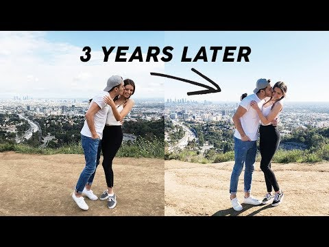 RECREATING Our Old Couple Photos!!