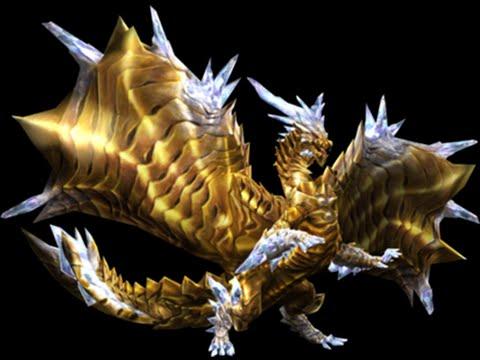 The Gold Dust Dragon: ガルバダオラ(Golden Daora) HR100+