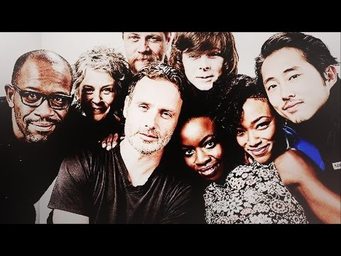 In The 80's | The Walking Dead Cast [SDCC]