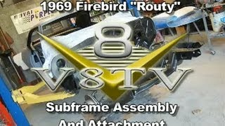 1969 Pontiac Firebird Front Suspension Install Video V8TV