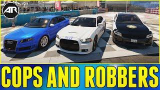 Forza Horizon 2 Online : COPS & ROBBERS!!!