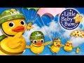 Six Little Ducks   From Five Little Ducks   Part 2   Nursery Rhymes   By LittleBabyBum