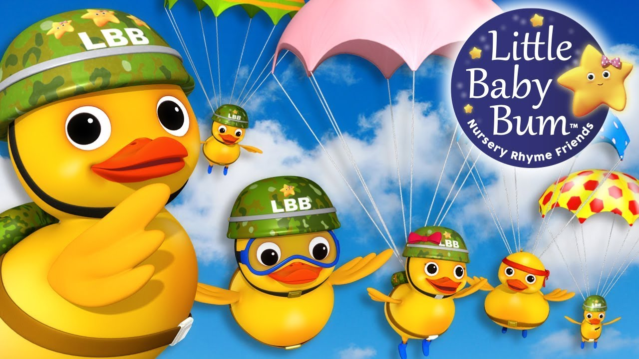 Download Six Little Ducks | Learn with Little Baby Bum | Nursery Rhymes for Babies | Songs for Kids
