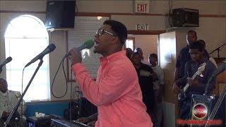 "Dexter Daniels singing ""When the Gates Swing Open"" on PraiseGodTV"
