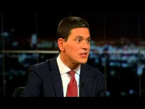 David Miliband and Bill Maher discuss Sharia law in Pakistan