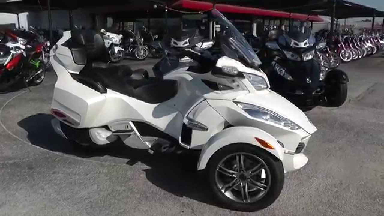 000593 2011 can am spyder rt se5 limited used motorcycle for sale youtube
