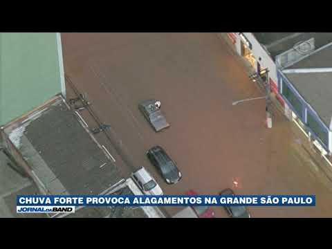 Chuva Forte Provoca Alagamentos Na Grande São Paulo