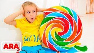 فلاد ونيكيتا ومنزل الحلوى به الكثير من الحلوى