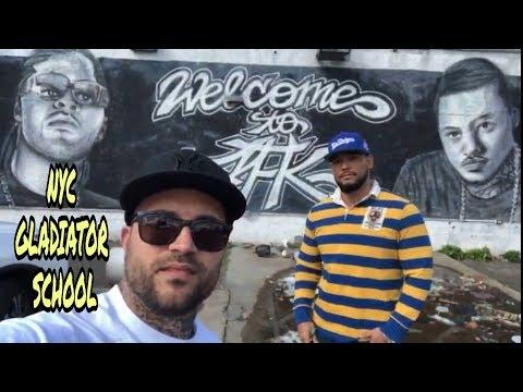 MEETING UP with NYC GLADIATOR SCHOOL at FAR ROCKAWAY