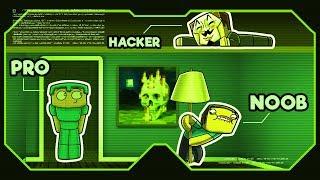 Minecraft - NOOB vs PRO vs HACKER - SECRET XRAY HACKS!