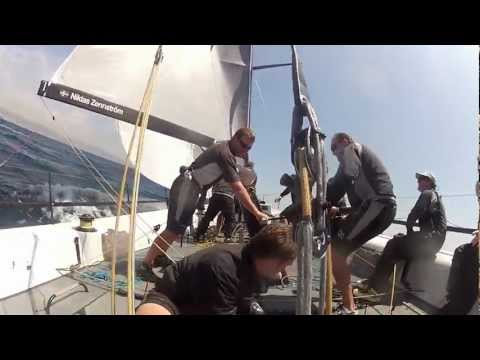 52 Super Series - Onboard Rán