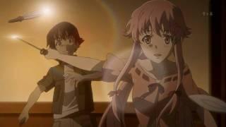 Repeat youtube video Mirai Nikki - Yuno's Knife Skills
