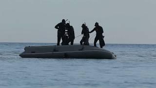 Ротан 520 -SF (СпецНаз) + тохатсу 50 лс. Лодки быстрого реагирования. Краснодарский отряд Альфа.