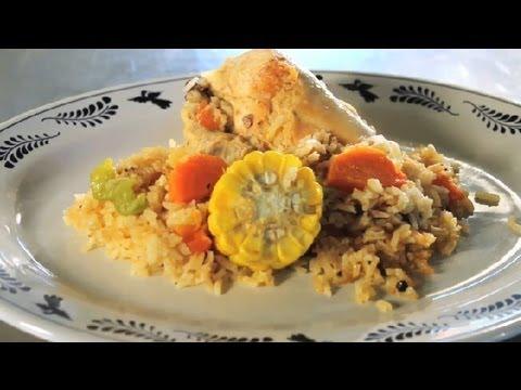 Mexican Chicken & Rice Recipe : Texas Flavors
