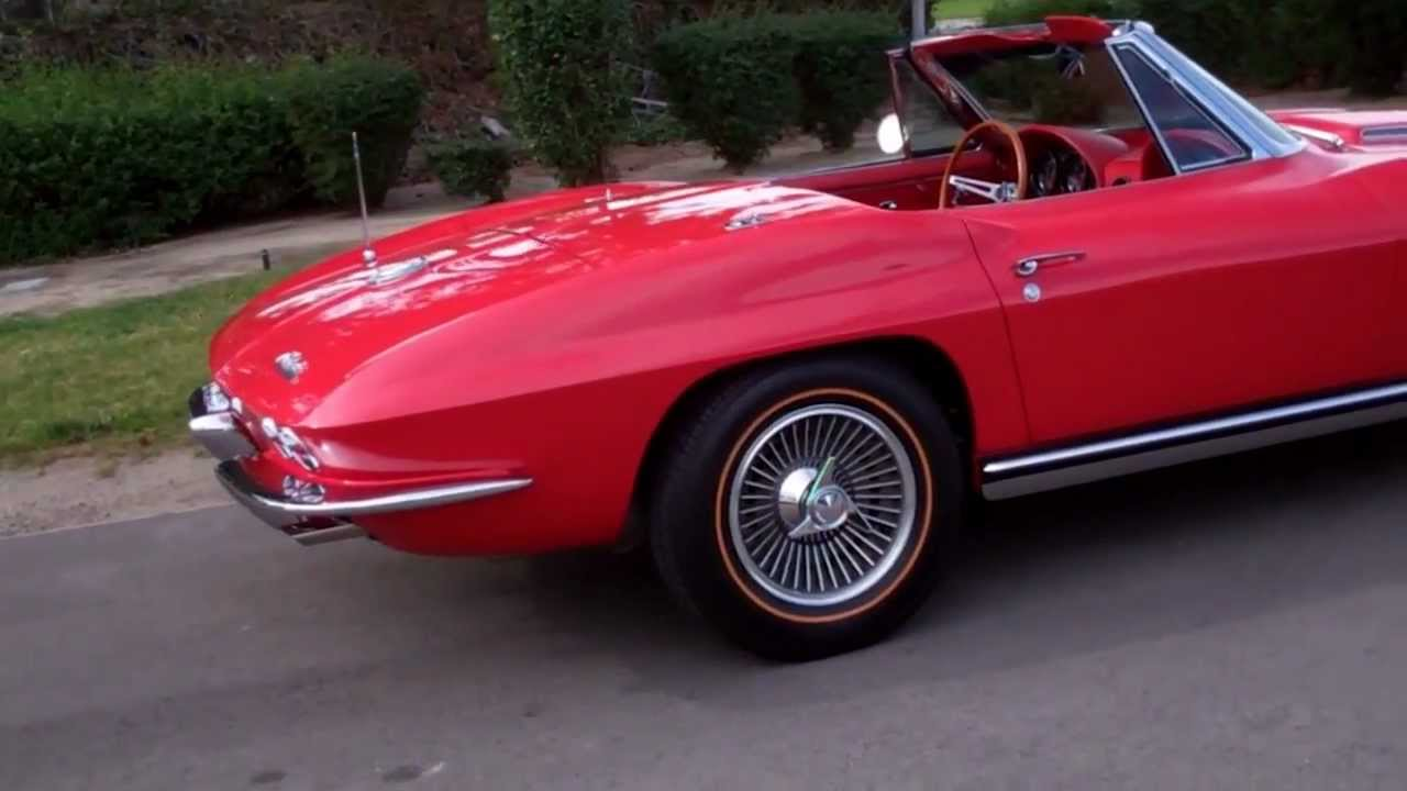 1965 Corvette For Sale >> SOLD 1965 Chevrolet Corvette 396/425hp Convertible Rally Red for sale by Corvette Mike - YouTube