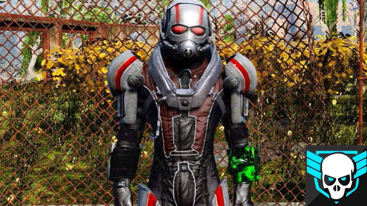 Fallout 4 Console Mods ANT MAN ARMOR XB1PS4PC