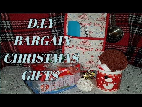 D.I.Y BARGAIN CHRISTMAS GIFTS》TheNickiTouch - YouTube