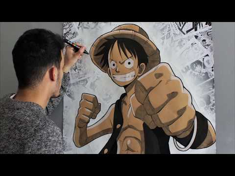 Dessiner luffy en taille reelle tagged videos midnight news - Comment dessiner luffy ...