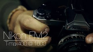 Halloween Street Photography - Nikon FM2 50mm 1.8 Series E & T-max400 @ 1600