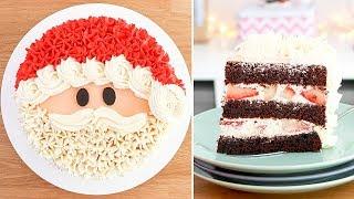 Torta / Pastel De Santa Claus - Papa Noel (sin Fondant) 🎄Tan Dulce