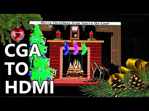 How to convert CGA video to HDMI for around $65